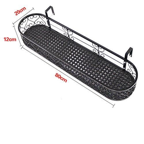 JJ Bloemenstandaard voor op balkons, hekken of balustrades