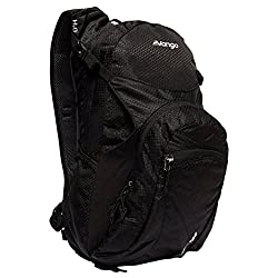 Excel 420D honeycomb Polyester 2L hydration reservoir included Detachable rain cover Helmet stow compartment, Pro-weave side pockets and key pocket Reflective light loop for clip-on light
