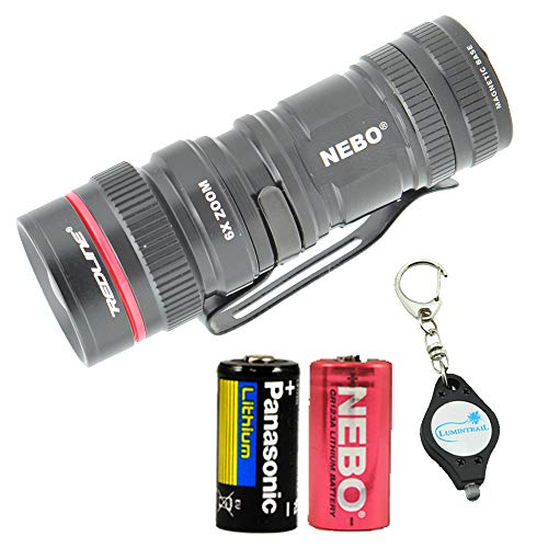 NEBO Micro Redline 360 LUX LED Mini Flashlight with Magnetic