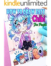 How to Draw Cute Stuff Chibi Cartoon: A Simple Easy Step-by-Step Lessons, Everything in the Cute and Silly Things(Volume 1) (English Edition)