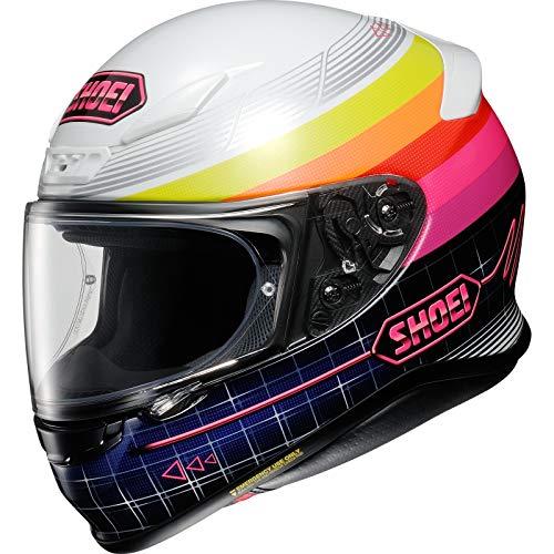 Shoei Helm NXR Zork TC-7 pink Motorradhelm mit Pinlock Visier Integralhelm, L