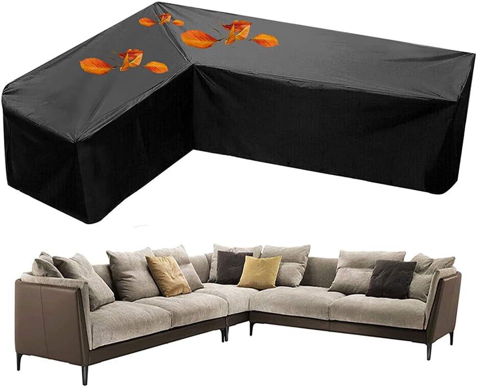 Excellence QINZC Outdoor Furniture Covers Waterproof Sofa Garden Corner Be super welcome S L