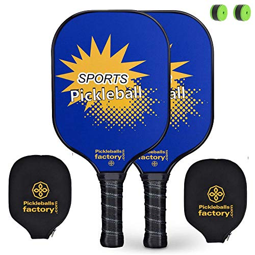 Pickleball Set, Pickleball Paddles, Pickleball Paddle, Pickle Ball Game Set, Pickleball Net Bag, Pickleball Balls, Yellow Fun Pickleballs, Pickle Ball Racquet, Paddle Grips