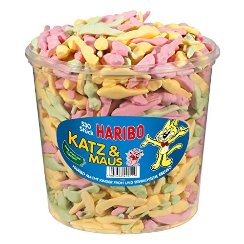 HARIBO Katz & Maus Dose 530 Stück.