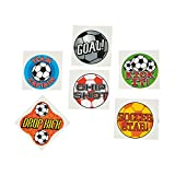 SOCCER BALL TATTOOS (6DZ) - Apparel Accessories - 72 Pieces