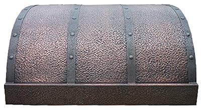 Sinda Copper Best H4 362118H Solid Copper Range Hood with Inserts Under Cabinet 36 in.