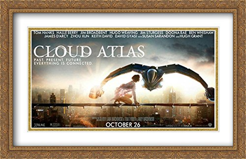Cloud Atlas 40x26 Double Matted Large Large Gold Ornate Framed Movie Poster Art Print