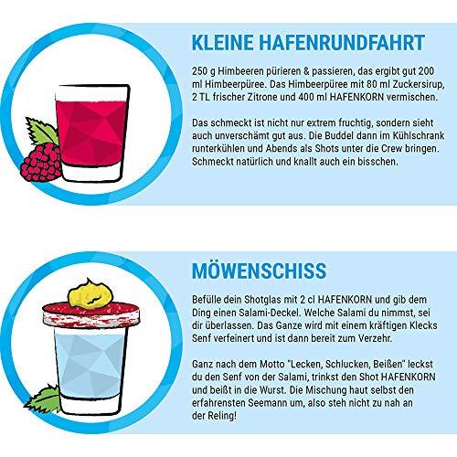 HAFENKORN, klarer Korn Schnaps aus 100% norddeutschem Weizen, frischer Hamburger Kornbrand, pur oder für Kornmischung, Hamburg Geschenk, 1 x 0,7 L - 6