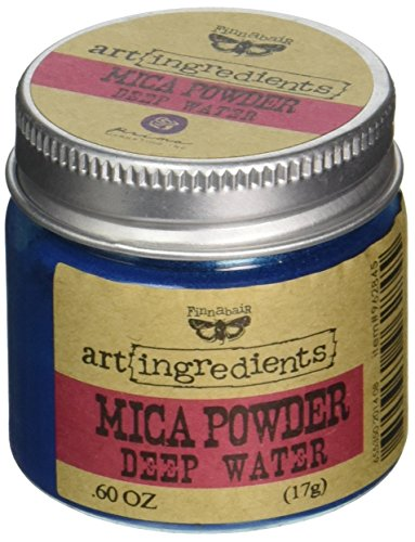 Prima Marketing Finnabair Art Ingredients Mica-poeder, 0,6 oz, diep water
