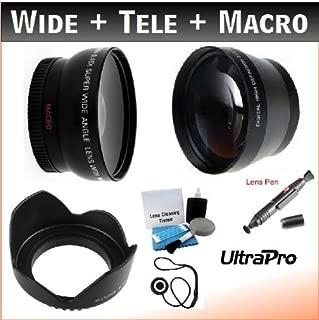 37mm Essential Lens Kit for the Panasonic SDR-H18, SDR-H80, SDR-H90, AG-HSC1U Hard Drive Camcorders. Bundle Includes UltraPro Accessory Set.