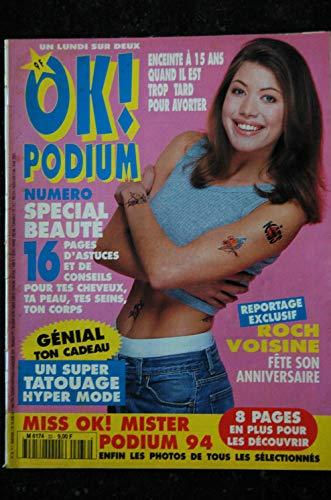 OK PODIUM ! 33 1994 04 ROXETTE Roch VOISINE Julie CAIGNAULT Cindy CRAWFORD