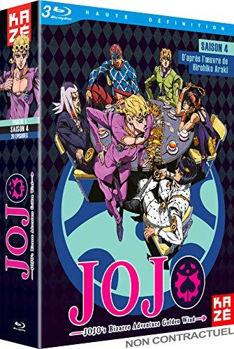 JoJo's Bizarre Adventure : Golden Wind, Saison 4, Partie 1/2 [Blu-Ray]