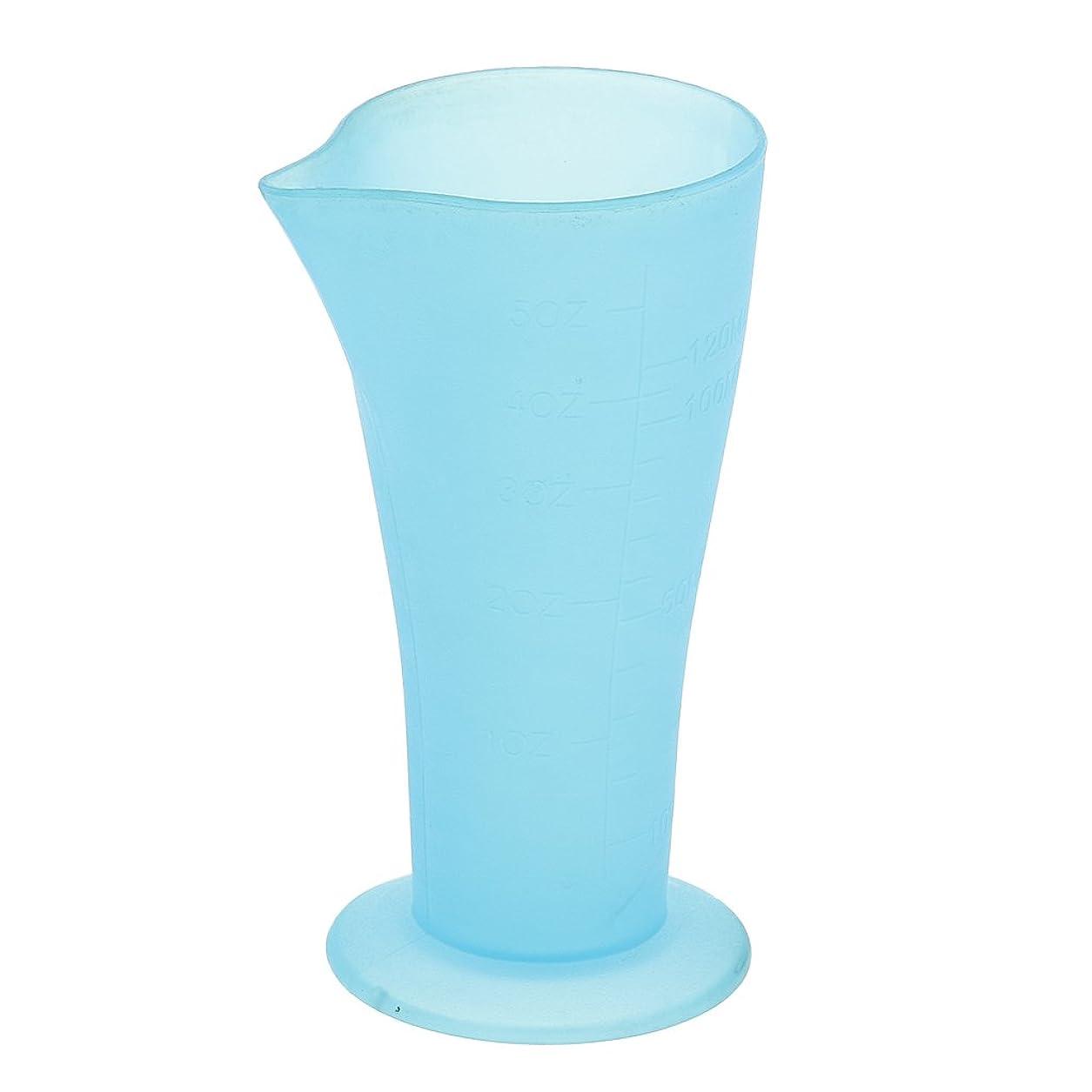 広告主確執ネックレスBaosity 計量カップ ヘアダイカップ プラスチック サロン 髪の色合い 色の混合用 読みやすい測定 再使用可能