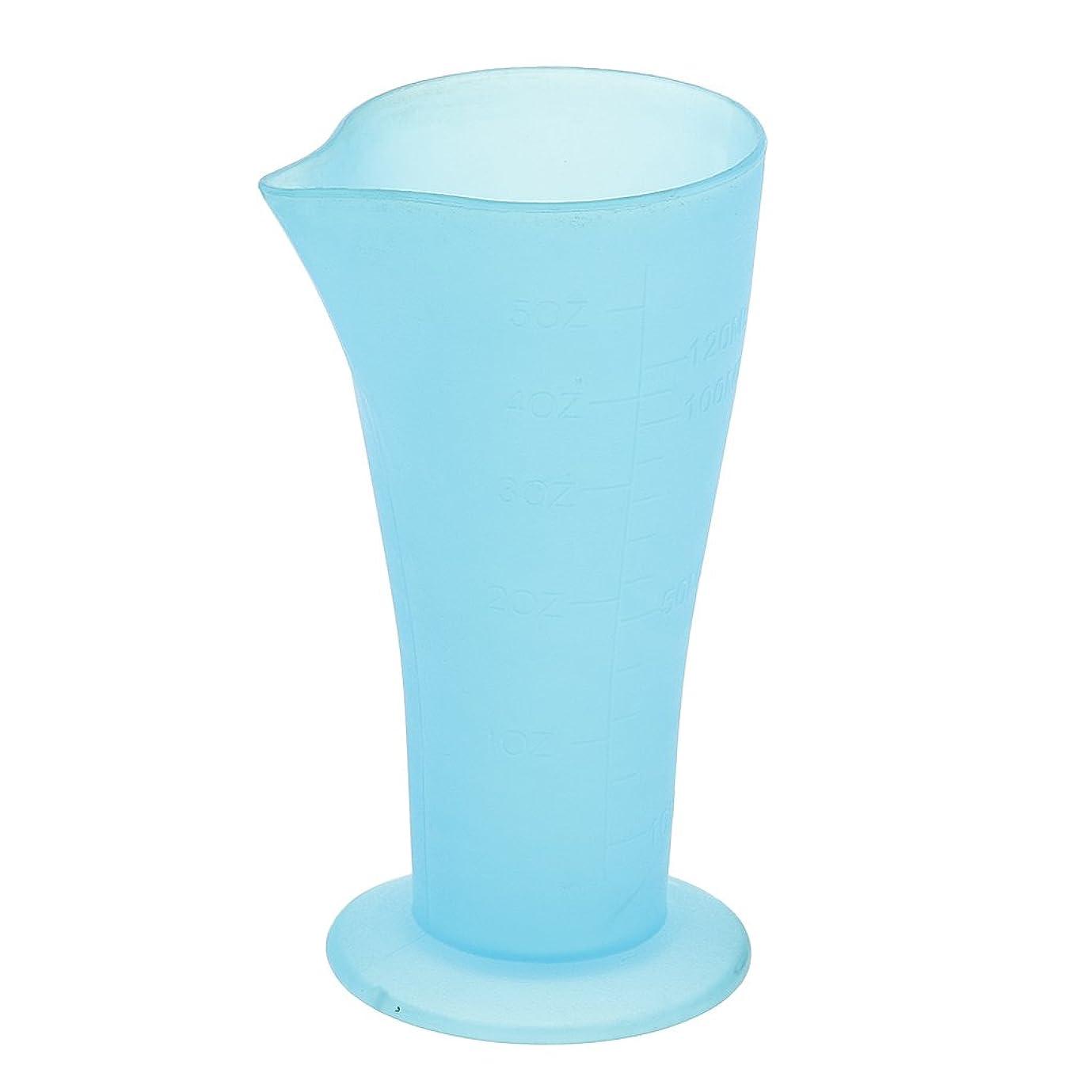 文書き出す助けになるCUTICATE 計量カップ ヘアダイカップ ヘアカラーカップ 再使用可 120mL ヘアサロン