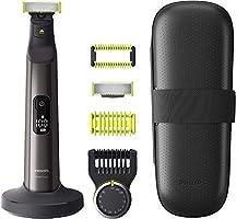 Philips OneBlade Pro Cara + Cuerpo QP6650/30 - Recortador de Barba recargable con Peine-guía para el cuerpo, Peine de...