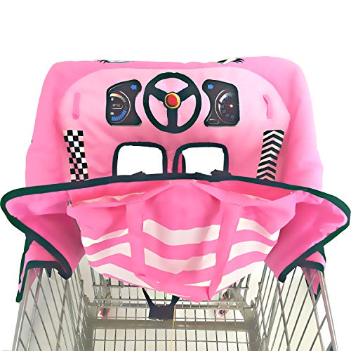 For Sale! Cute 2-in-1 Shopping Cart&High Chair Cover for Baby with Portable Bag | Universal Fit All ...