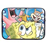 CHLING Spongebob Squarepants with Many Friends Laptop Sleeve Bag Compatible 13-15 Inch MacBook Pro/MacBook Air/Notebook