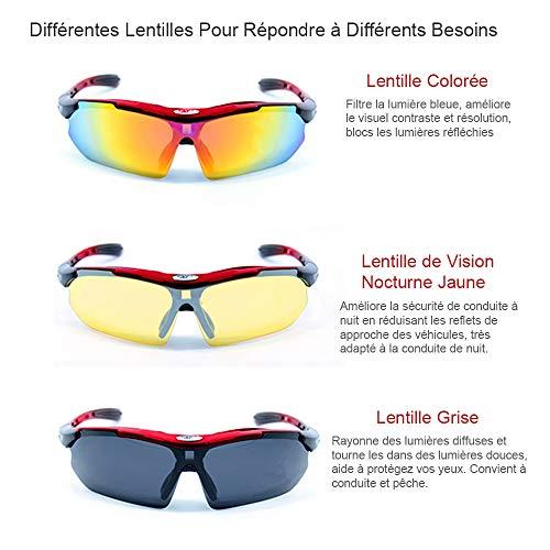 New rui cheng Gafas de Ciclismo, Gafas Deportivas Gafas de Sol ...