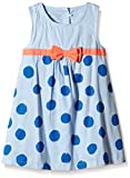 NAME IT Mädchen nitFADORA M Dress 116 GER Kleid, Blau (Cashmere Blue), 104