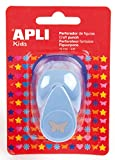APLI Kids 13070 - Perforadora para papel figura mariposa, 16 mm