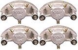 Kodiak 4-Pack Trailer Brakes Replacement Dacroment Caliper w/Ceramic Pads