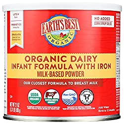 Earth's Best Organic Dairy Infant Formula