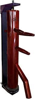 Wing Chun Dummy with Recoil Reaction Stand