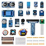 LABISTS Kit de Módulos de Sensores con 15 Proyectos, 8 Sensores para Principiantes y Profesionales DIY, Compatible con Raspberry Pi y Arduino