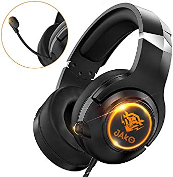 Jako Noise Cancelling Over Ear Headphones with Mic