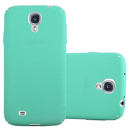 Cadorabo Custodia per Samsung Galaxy S4 in Frosty Verde - Rigida Cover Protettiva Sottile con Bordo Protezione - Back Hard Case Ultra Slim Bumper Antiurto Guscio Plastica