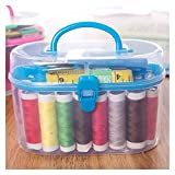 WENYOG Kit De Costura 49pcs Accesorios de Costura Caja de Costura portátil Costura de Costura Artesanía Herramientas de Costura Suministros Costureros De Costura (Color : 1set)