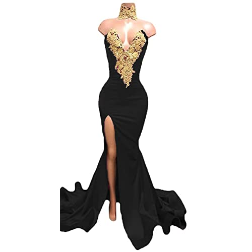 Black And Gold Gown Amazoncom