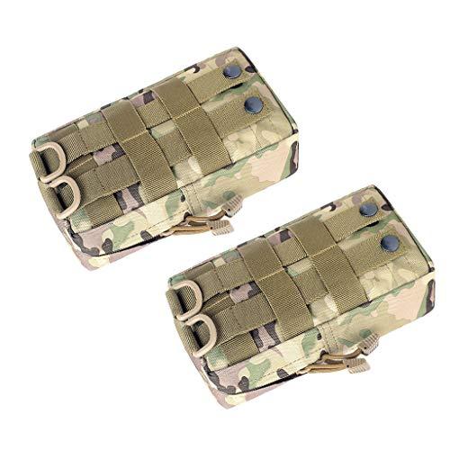 Lote de 2 bolsas impermeables para el bolso, 11 x 21 x 5,5 cm