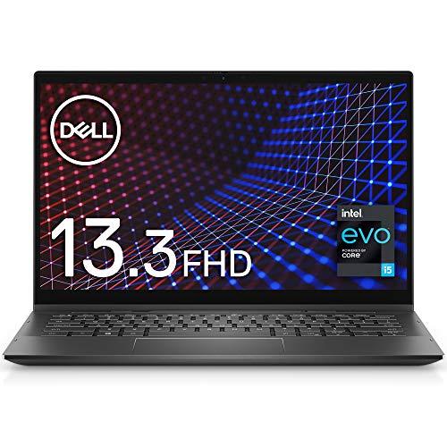 【インテル Evo プラットフォーム】Dell モバイル2-in-1ノートパソコン Inspiron 13 7306 ブラック Win10/13.3FHD/Core i5-1135G7/8GB/512GB/Webカメラ/無線LAN MI753CPA-AWL【Windows 11 無料アップグレード対応】