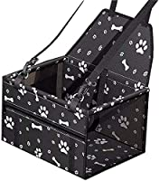 【Dog Booster Seats】40 X 32 X 24 cm, Suitable for dogs cats and other pets less than 6kg puppy The dog car seat is a great to take your furry friend with you on the road, keeps your pet safe and secure when driving 【Sturdy Pet Travel Accessories】-Upgr...