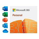 Microsoft 365 Personal para 1 PC/MAC1 tableta/ teléfono incluyendo iPad/Android/Windows Código de activación enviado por correo