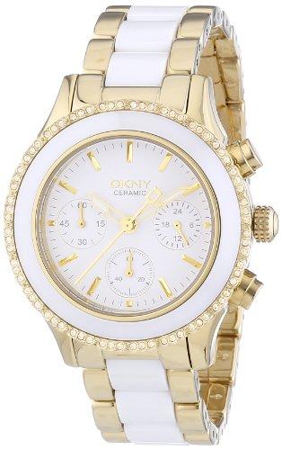 DKNY Damen-Armbanduhr Chronograph Quarz Edelstahl NY8830