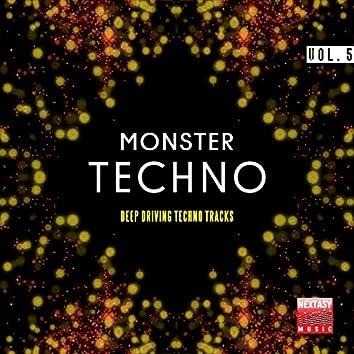 Monster Techno, Vol. 5 (Deep Driving Techno Tracks)