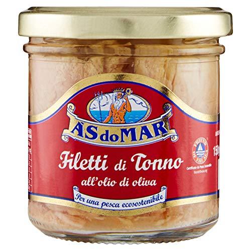 Asdomar Filetti di Tonno all'Olio di Oliva, 150g