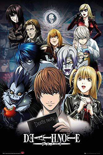 Tainsi Death Note – Decoración de muerte poster-11 x 17 pulgadas, 28 x 43 cm