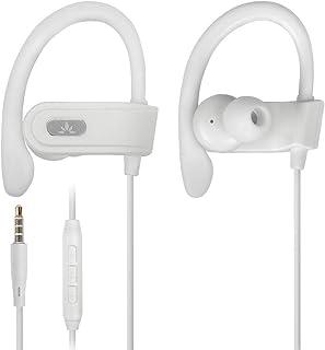 Avantree Auriculares Running Deportivos con Micrófono, Auriculares con Cable para Correr con Gancho de Oreja Compatibile c...