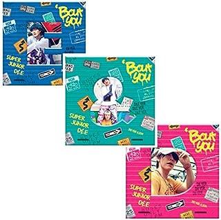 SUPER JUNIOR D&E [BOUT YOU] 3Ver Set+POSTER+Photo Book+Photo Card+Tricking Number K-POP SEALED