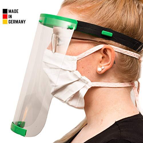 Visier Gesichtsschutz aus Kunststoff - Face Shield - Schutzschild für das Gesicht - Made in Germany