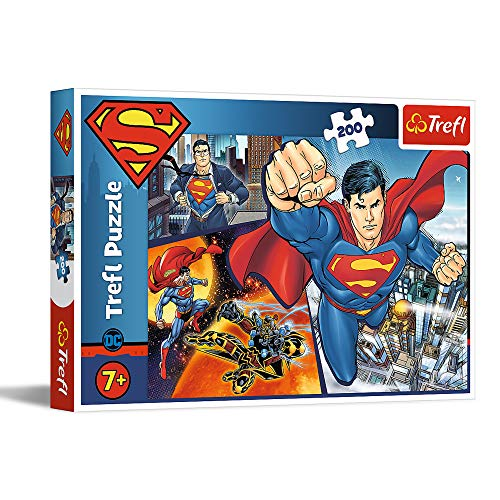 Trefl 13266 Superman Puzzle 200