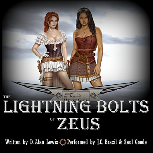 The Lightning Bolts of Zeus audiobook cover art