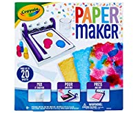 Crayola Paper Maker, Paper Making DIY Craft Kit, Gift for Kids, 7, 8, 9, 10, Multi