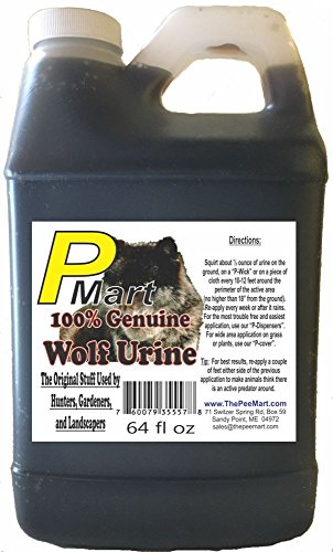 The Pee Mart - Wolf Urine 64 oz Bulk Filler!