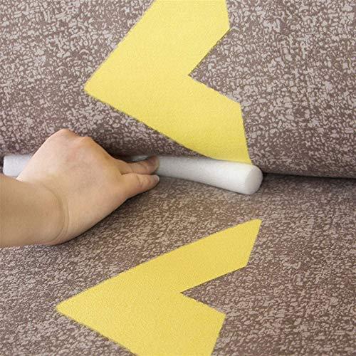 TSKJ Sofa Slipcover Non-Slip Foam Strip,Non-Slip Foam Stick for Stretch Couch Covers,Gap Filler for Preventing Displacement of 1/2/3/4 Seater Sofa Cover&Recliner Slipcover (7 PCS)