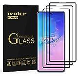 ivoler 3 Stücke Panzerglas Schutzfolie für Samsung Galaxy Note 10 Lite, [Volle Bedeckung] Panzerglasfolie Folie Hartglas Gehärtetem Glas BildschirmPanzerglas für Samsung Galaxy Note 10 Lite