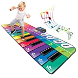 This Is Satisfaction Guarantee - Great Gift for Birthday and Holidays for Students and Boys & Girls - Designed In The USA - Patent - Original By Play22USA Keyboard Piano for Kids and Toddlers and for Adults Comes With 4 Demo Gigantic Electronic Keybo...